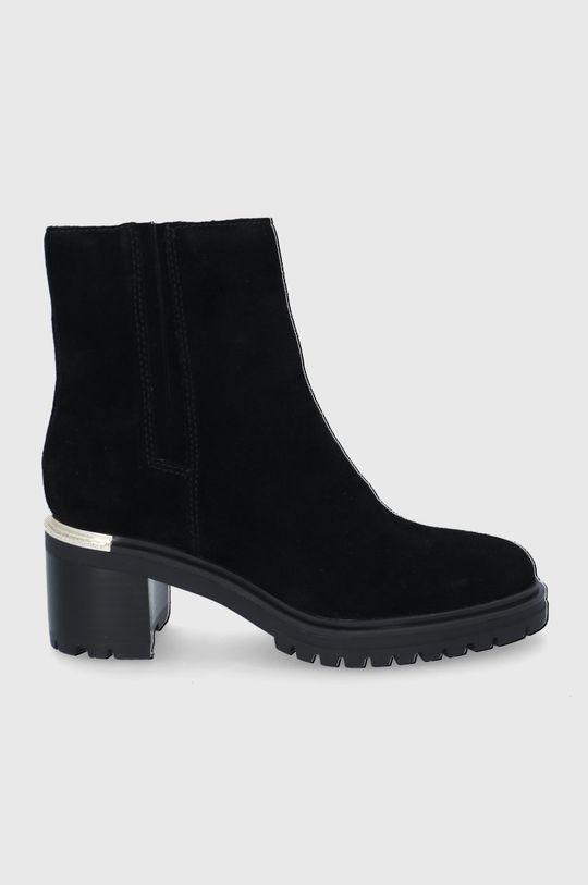 černá Tommy Hilfiger - Semišové boty Dámský