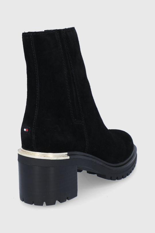 Tommy Hilfiger - Semišové boty  Svršek: Textilní materiál, Semišová kůže Vnitřek: Textilní materiál, Přírodní kůže Podrážka: Umělá hmota