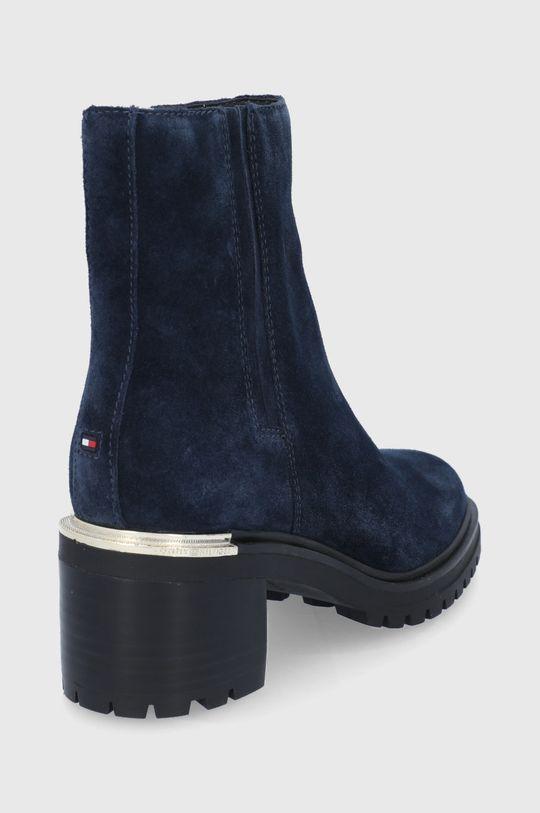 Tommy Hilfiger - Semišové boty  Svršek: Textilní materiál, Přírodní kůže Vnitřek: Textilní materiál, Přírodní kůže Podrážka: Umělá hmota