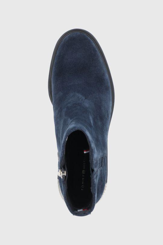 námořnická modř Tommy Hilfiger - Semišové boty