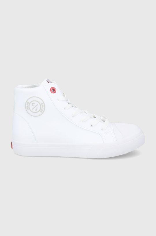 biały Cross Jeans - Trampki Damski