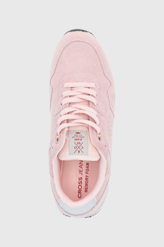 ružová Cross Jeans - Topánky