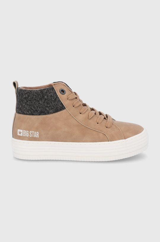 maro auriu Big Star - Pantofi De femei