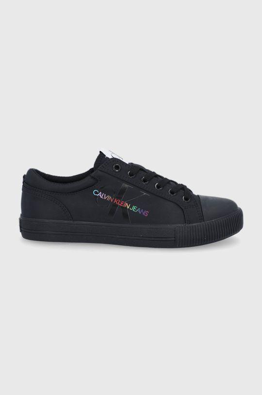 czarny Calvin Klein Jeans - Tenisówki Damski