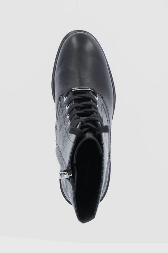 czarny Calvin Klein - Botki