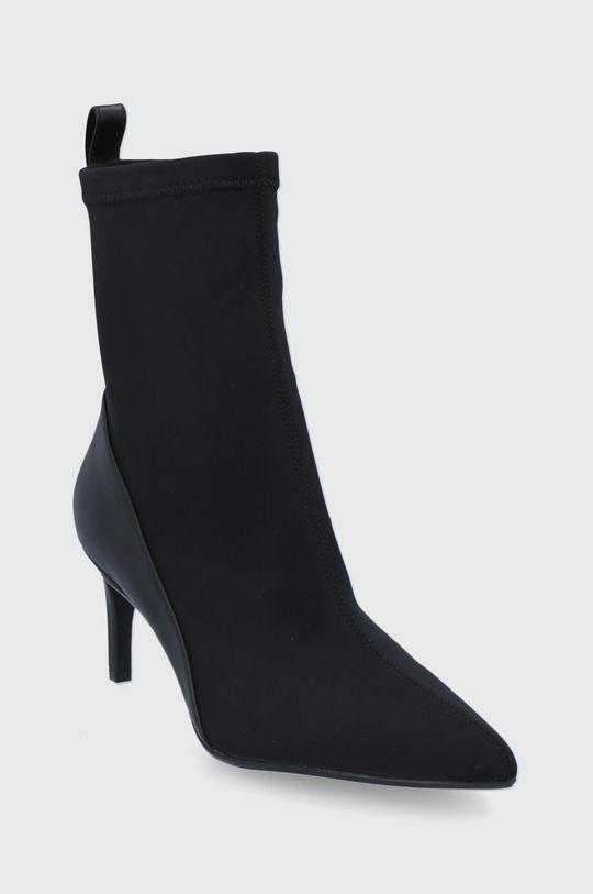 Calvin Klein - Nízké kozačky černá