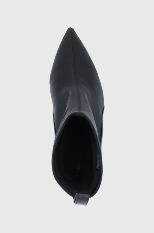 černá Calvin Klein - Nízké kozačky
