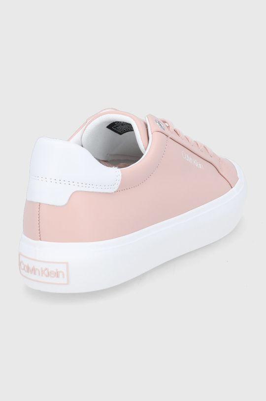 Calvin Klein - Buty skórzane Cholewka: Skóra naturalna, Wnętrze: Materiał tekstylny, Skóra naturalna, Podeszwa: Materiał syntetyczny