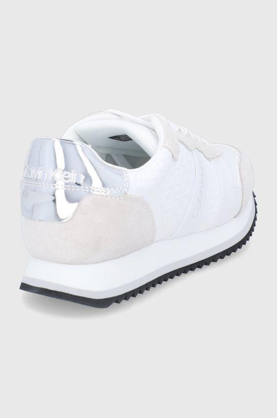 Calvin Klein - Buty skórzane Cholewka: Skóra naturalna, skóra powlekana, Wnętrze: Materiał tekstylny, Podeszwa: Materiał syntetyczny