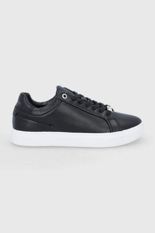 czarny Calvin Klein - Buty skórzane Damski