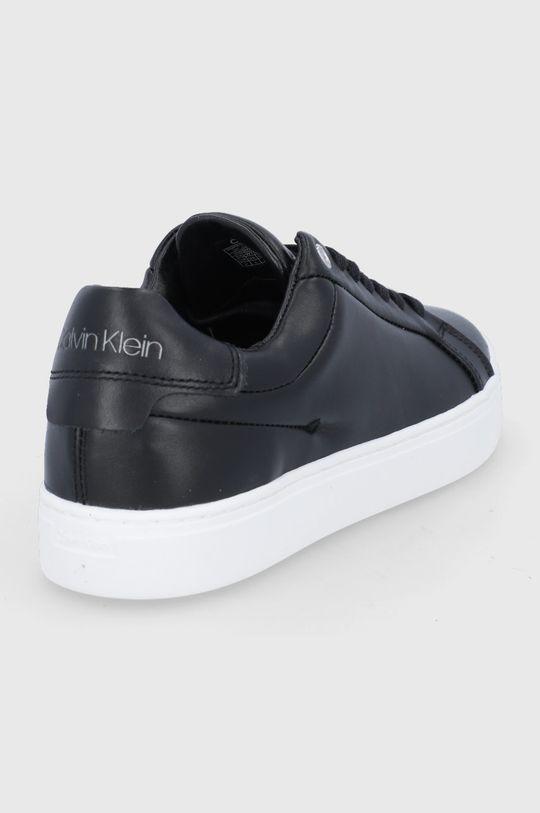 Calvin Klein - Buty skórzane Cholewka: Skóra naturalna, Wnętrze: Skóra naturalna, Podeszwa: Materiał syntetyczny