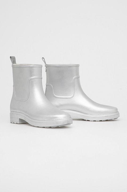 Calvin Klein - Kalosze srebrny