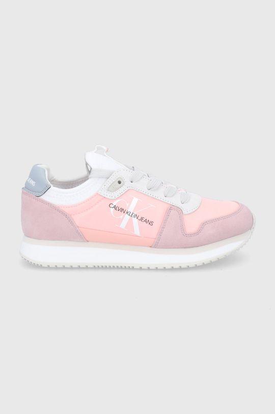 różowy Calvin Klein Jeans - Buty Damski