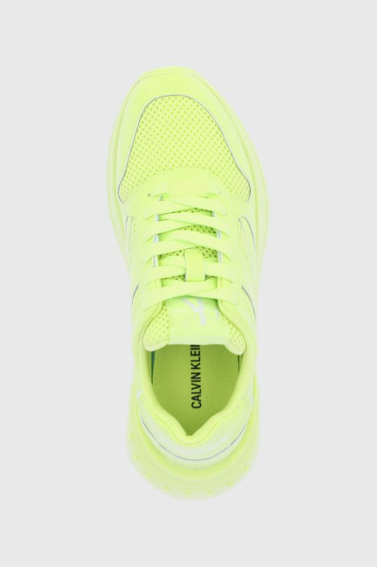żółto - zielony Calvin Klein Jeans - Buty