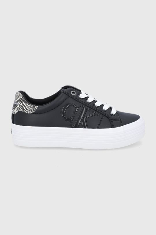 czarny Calvin Klein Jeans - Buty skórzane Damski