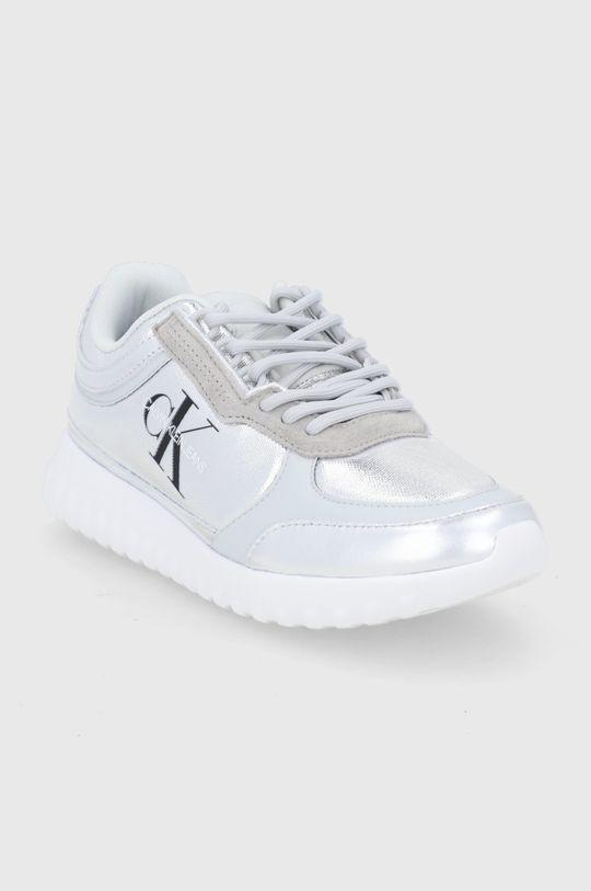 Calvin Klein Jeans - Buty srebrny