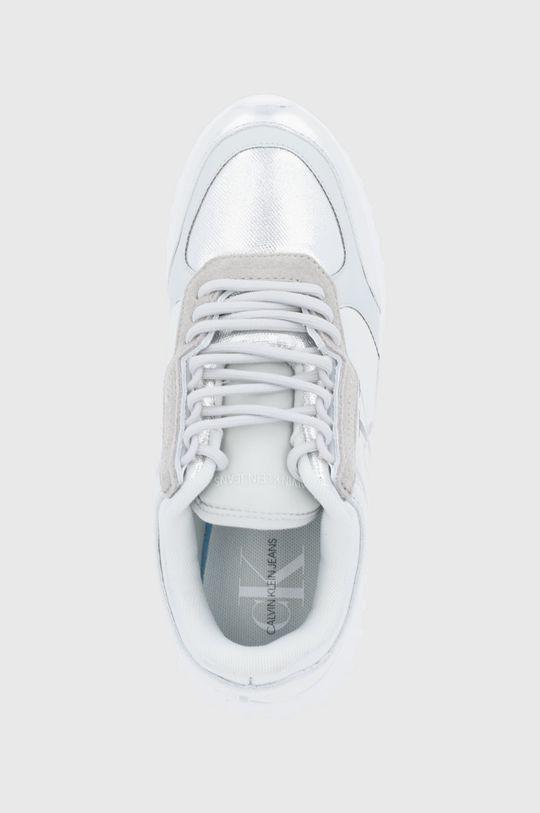 srebrny Calvin Klein Jeans - Buty