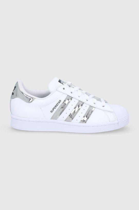 bílá adidas Originals - Boty Superstar Dámský