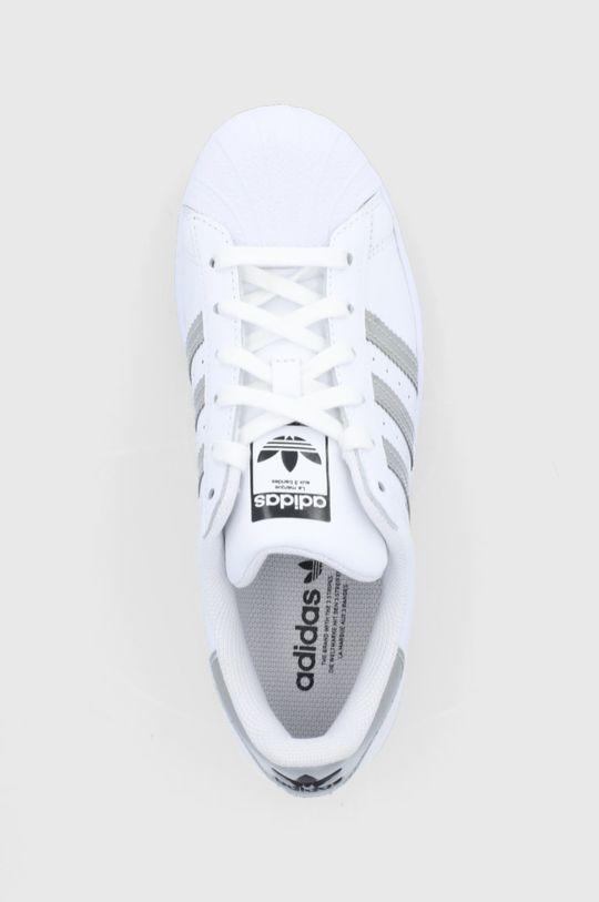 bílá adidas Originals - Boty Superstar