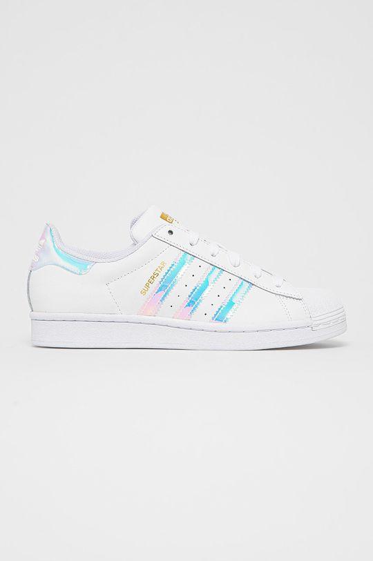 biały adidas Originals - Buty Superstar Damski