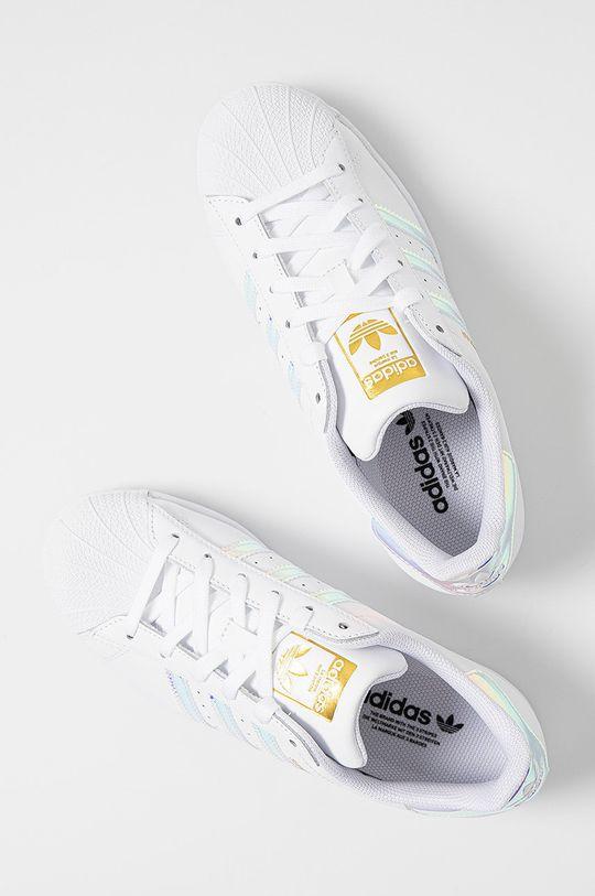 biały adidas Originals - Buty Superstar