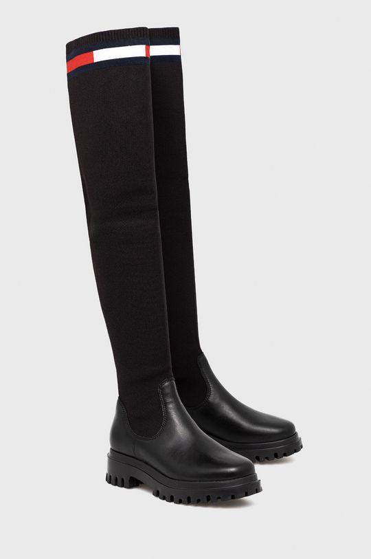 Tommy Jeans - Μπότες μαύρο