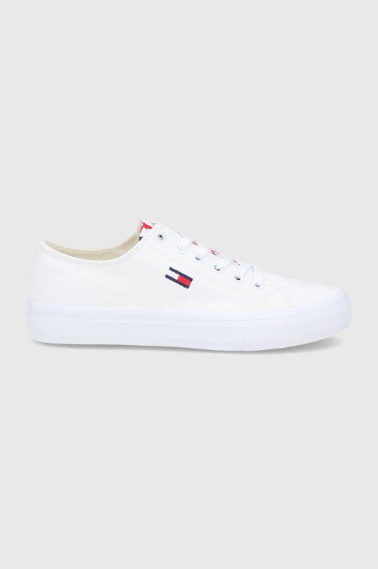 biały Tommy Jeans - Tenisówki Damski