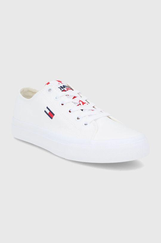 Tommy Jeans - Tenisówki biały