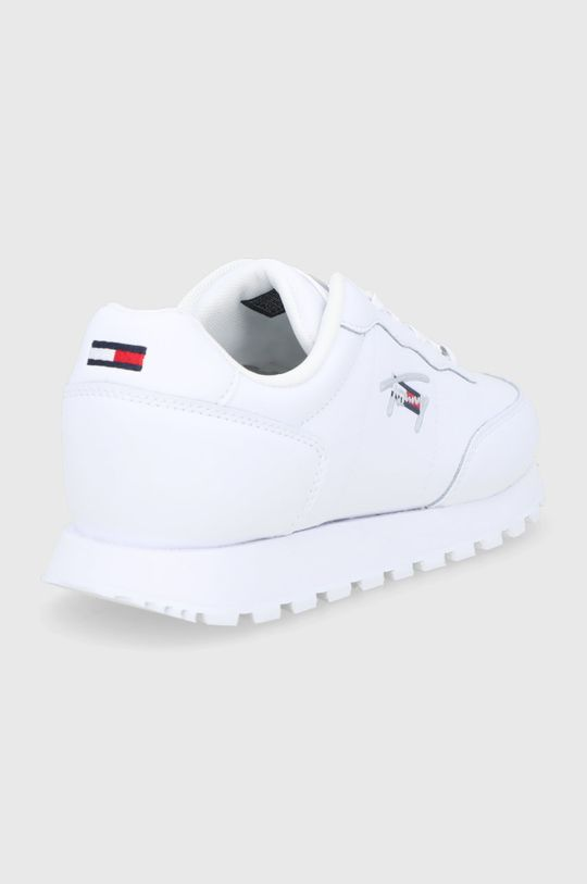 Tommy Jeans - Kožené boty  Svršek: potahová kůže Vnitřek: Textilní materiál Podrážka: Umělá hmota