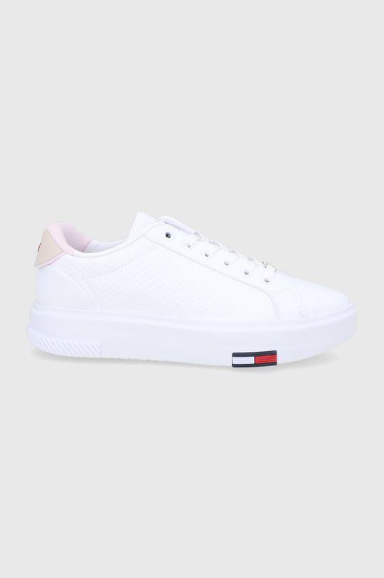 biały Tommy Jeans - Buty skórzane Damski