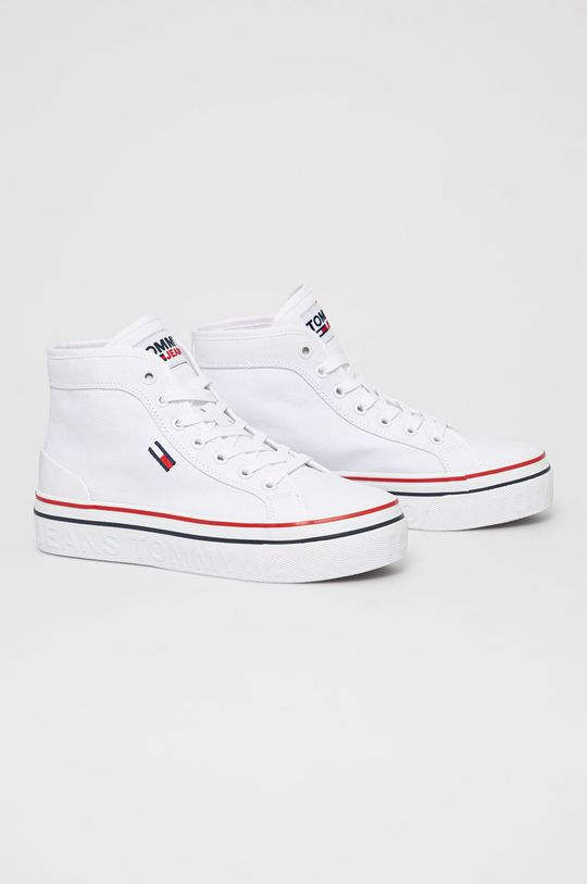 Tommy Jeans - Tenisky biela