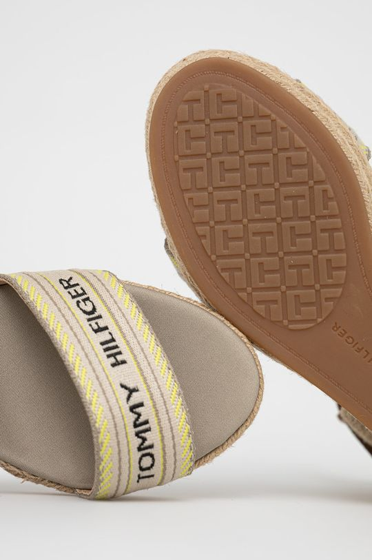 złoty brąz Tommy Hilfiger - Sandały