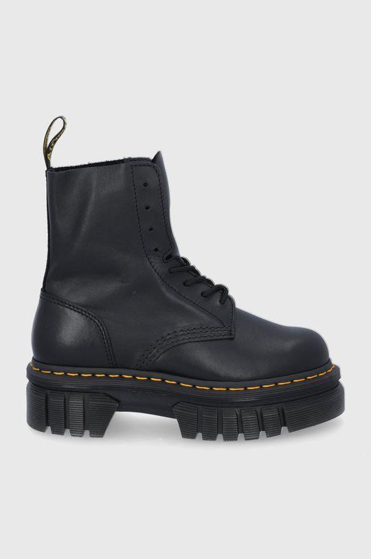 czarny Dr. Martens - Workery Audrick 8-Eye Boot Damski