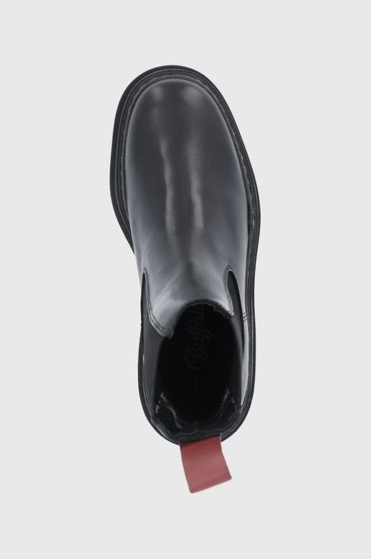 czarny Buffalo - Sztyblety skórzane