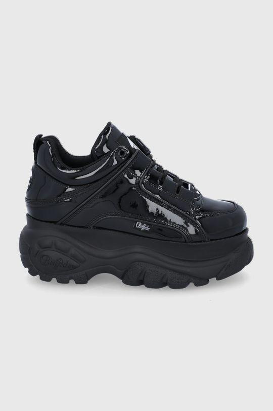 černá Buffalo - Kožené boty London Dámský
