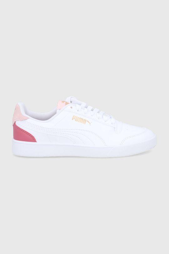 biały Puma - Buty Shuffle Damski