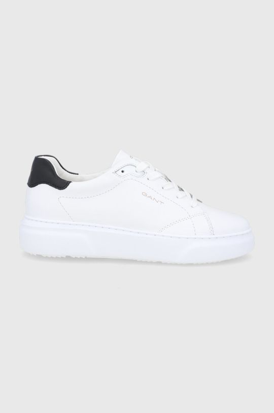 biały Gant - Buty skórzane Coastride Damski