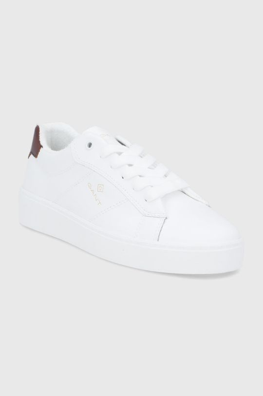 Gant - Kožené boty Legalily bílá