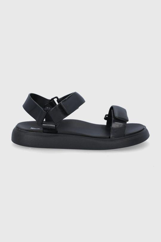 čierna Melissa - Sandále Papete Essential Dámsky