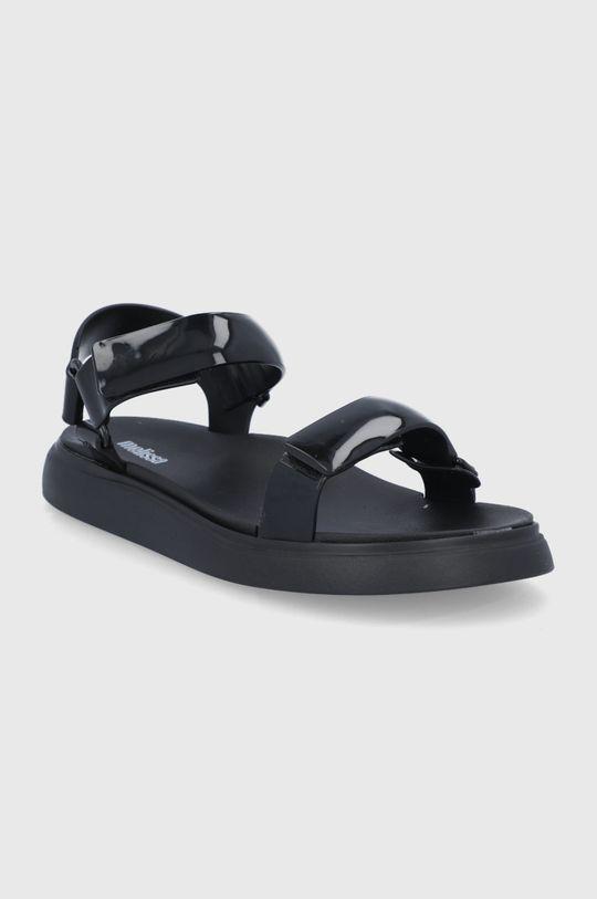 Melissa - Sandále Papete Essential čierna