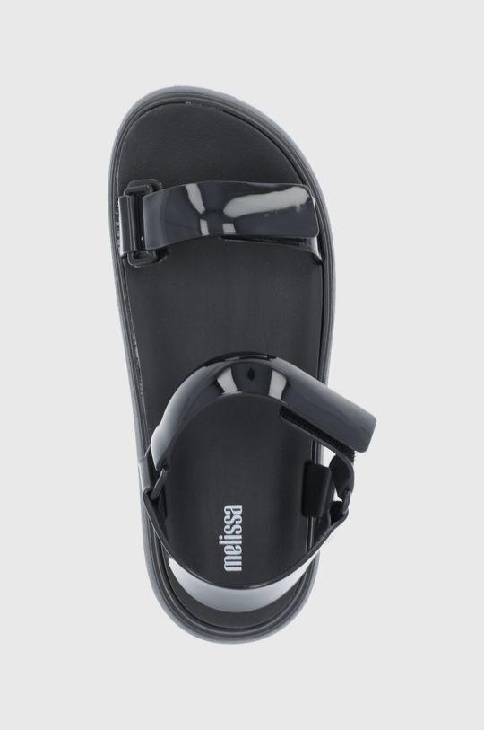 čierna Melissa - Sandále Papete Essential