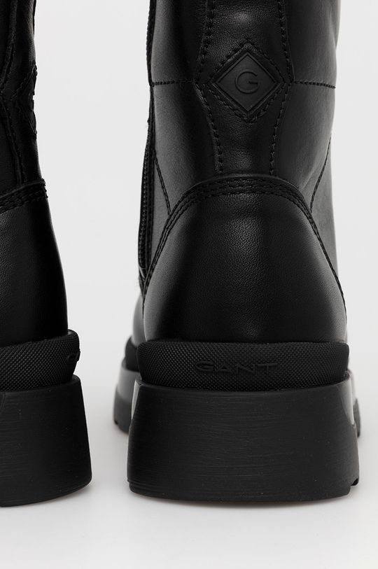 Gant - Bocanci de piele Windpeak  Gamba: Piele Interiorul: Material textil, Piele Talpa: Material sintetic