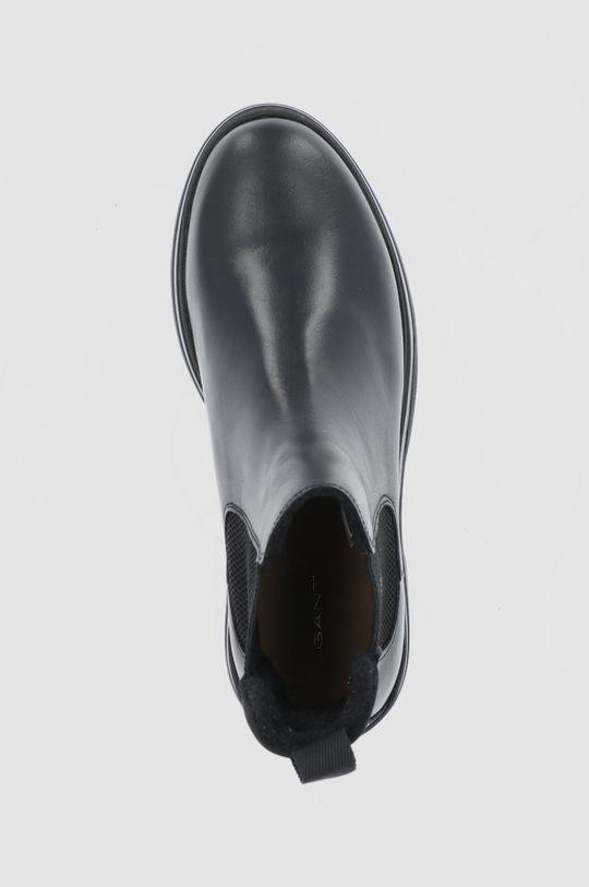 czarny Gant - Sztyblety skórzane Windpeak