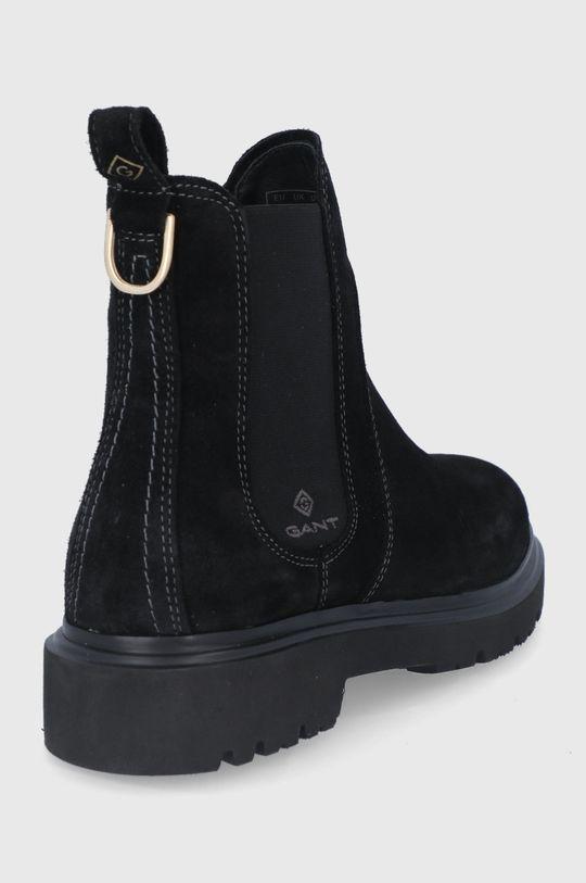 Gant - Semišové topánky Chelsea Malinca  Zvršok: Semišová koža Vnútro: Textil, Prírodná koža Podrážka: Syntetická látka
