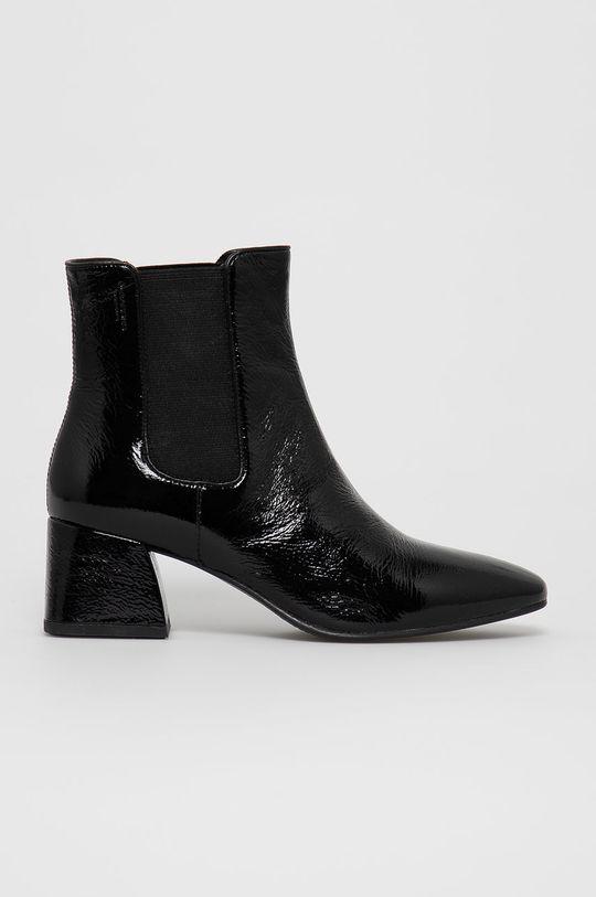 černá Vagabond - Kožené kotníkové boty ALICE Dámský