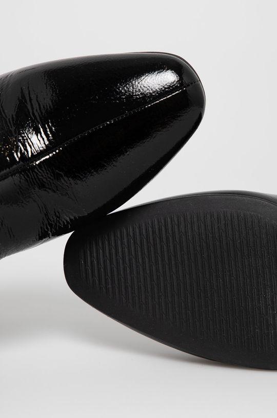 černá Vagabond - Kožené kotníkové boty ALICE