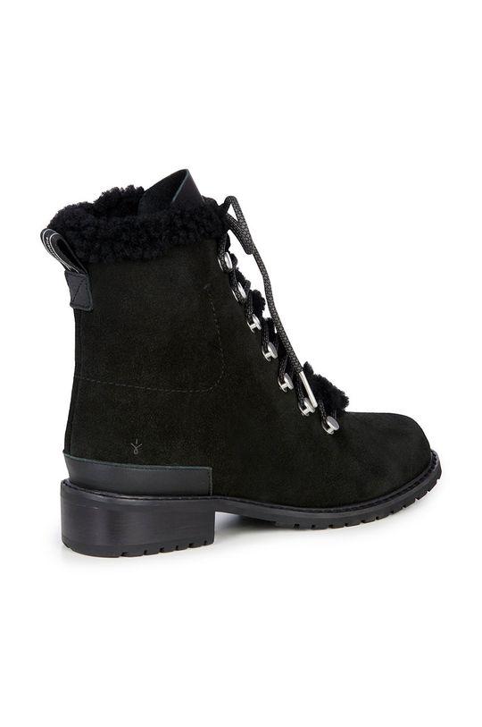 czarny Emu Australia - Botki zamszowe Billington