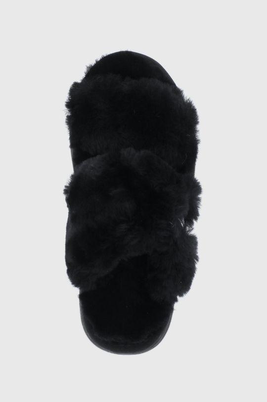 czarny Emu Australia - Kapcie Wobbegong