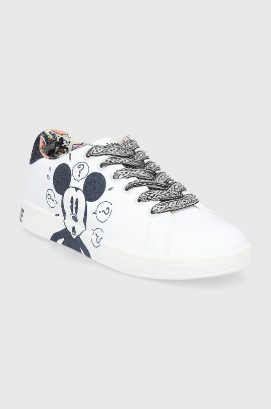 Desigual - Υποδήματα x Disney λευκό