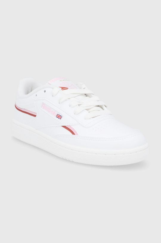 Reebok Classic - Buty Club C 85 Vegan biały